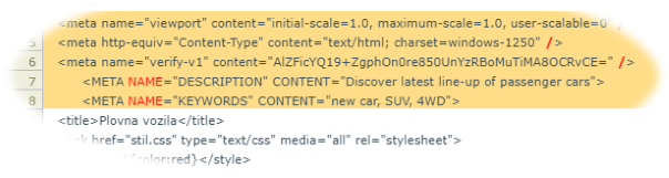 Highlighted HTML that BaferCMS autocorrected